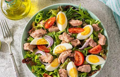 ensalada dieta cetogénica